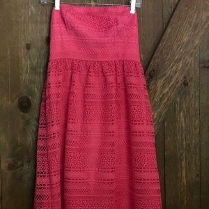 J CREW strapless dahalia dress. 2 NWT.